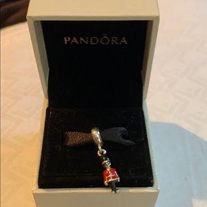 Authentic Pandora UK Guard Charm
